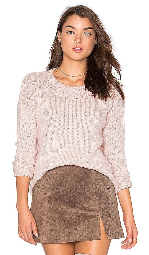 Velvet by Graham & Spencer Keri Sweater in Blush