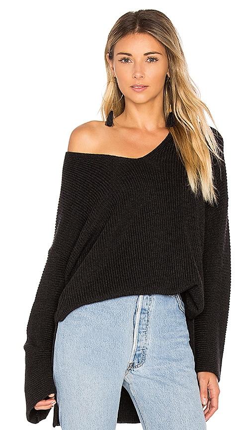 Velvet by Graham & Spencer Marci Sweater in Black