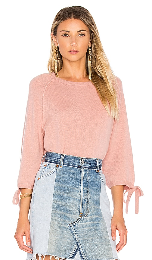 Velvet by Graham & Spencer Nicolette Pullover Sweater in Pink