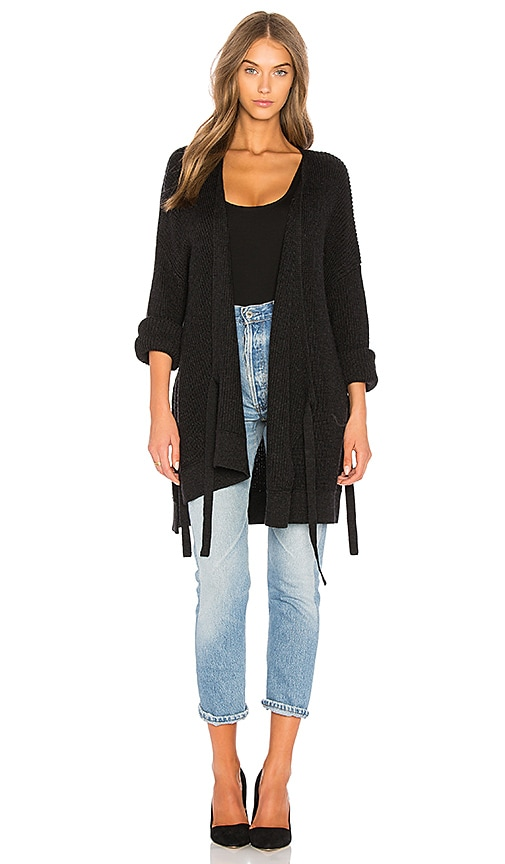 Velvet by Graham & Spencer Alison Cardigan in Black
