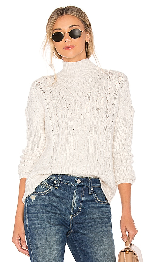 Velvet by Graham & Spencer Ingrid Sweater in Cream