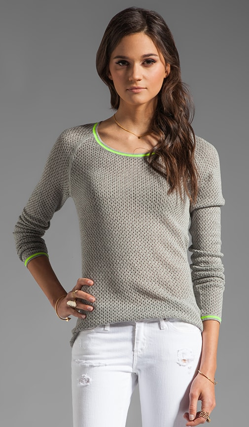 Mesh Skyler Sweater