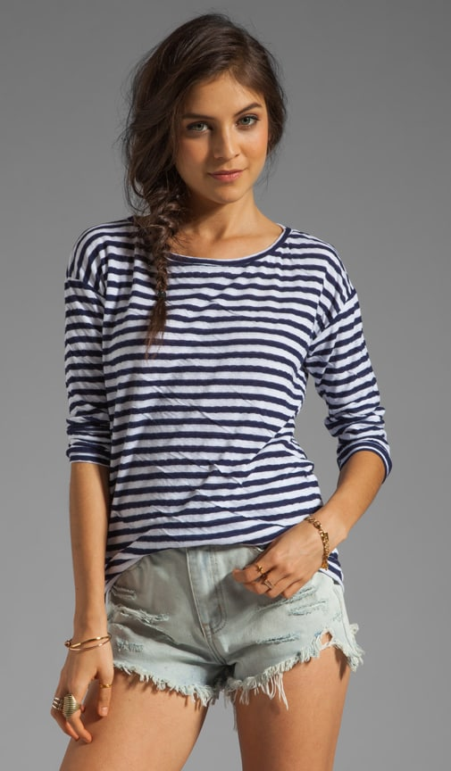 x Lily Aldridge Pearl Stripe Sweater