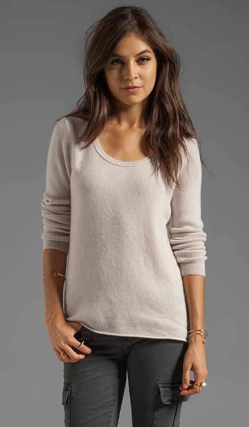Glitzy Cashmere Classics Loose Long Sleeve
