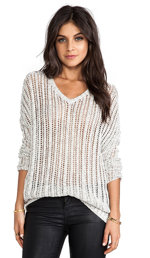 Tomia Marled Cotton Sweater