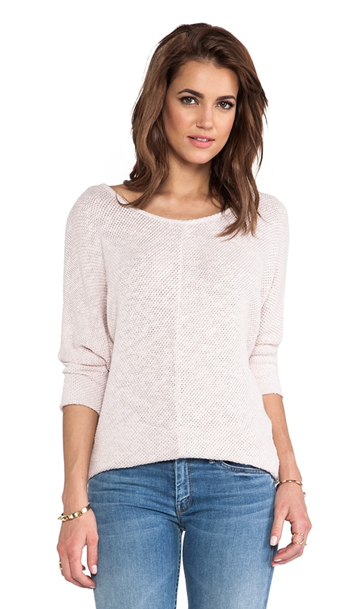 Talora Cotton Crochet Sweater