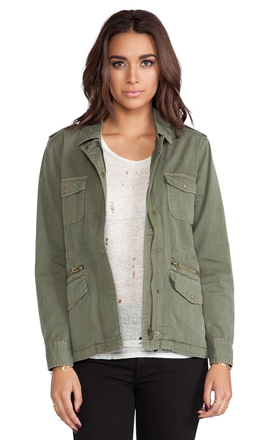 x Lily Aldridge Ruby Army Jacket