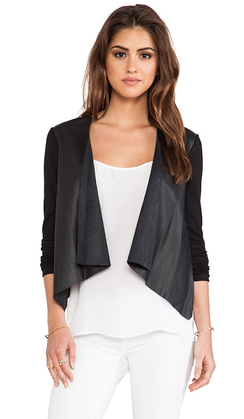 Purity Ponti w/ Faux Leather Jacket