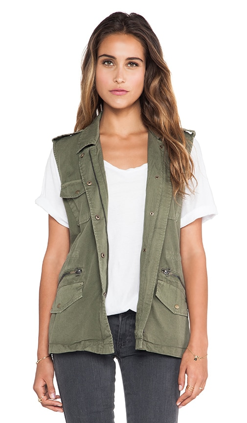 Amesha Cotton Twill Vest