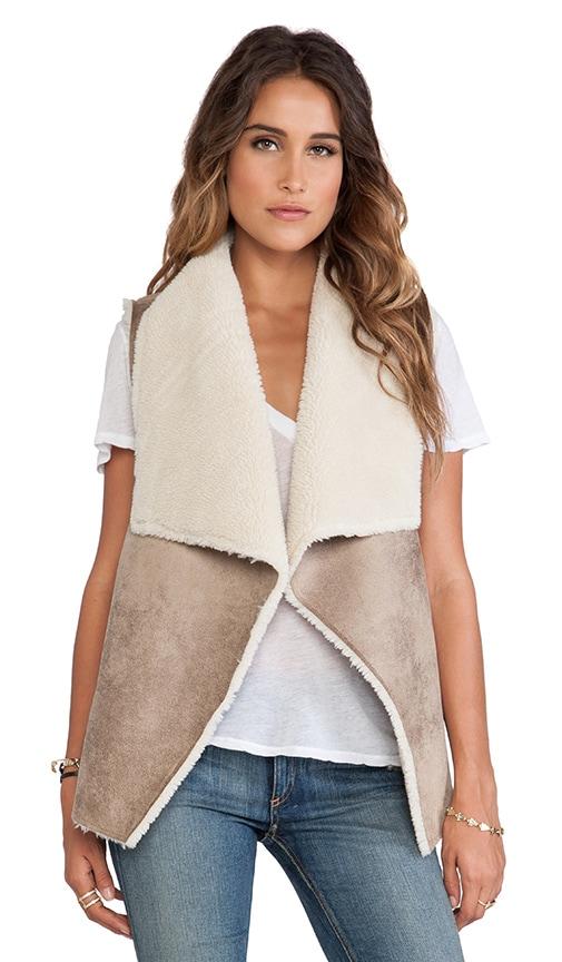 Nia Faux Fur Vest
