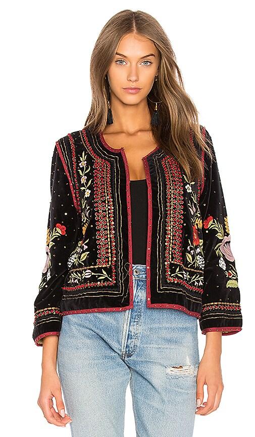Adara Velvet Jacket