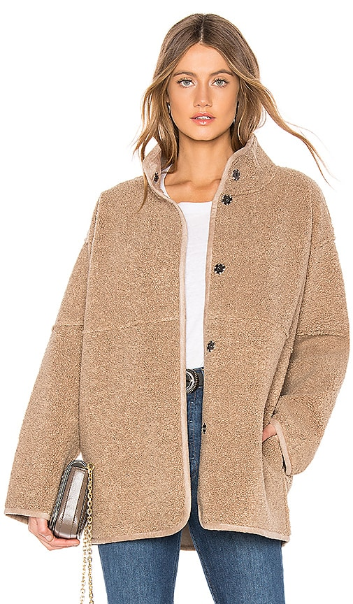 Albany Lux Faux Sherpa Jacket