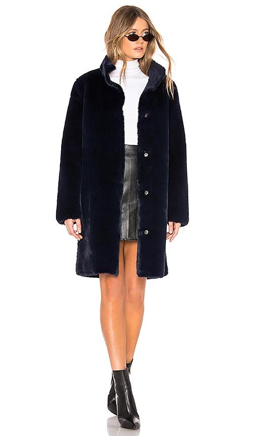 Mina Faux Fur Coat