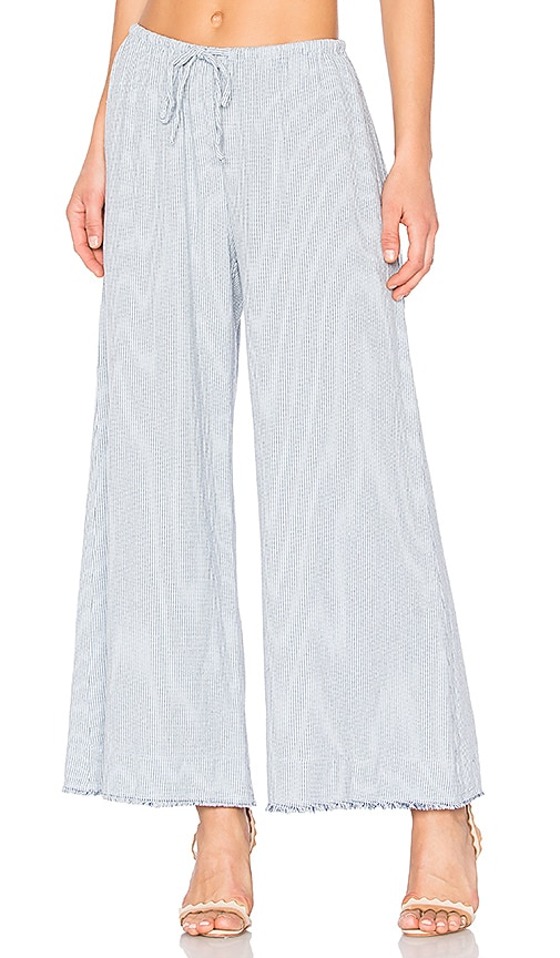 Velvet by Graham & Spencer Esta Pant in Blue