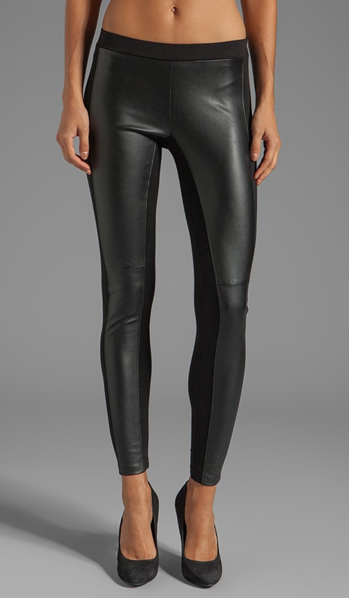 Leggings Odette en maille interlock