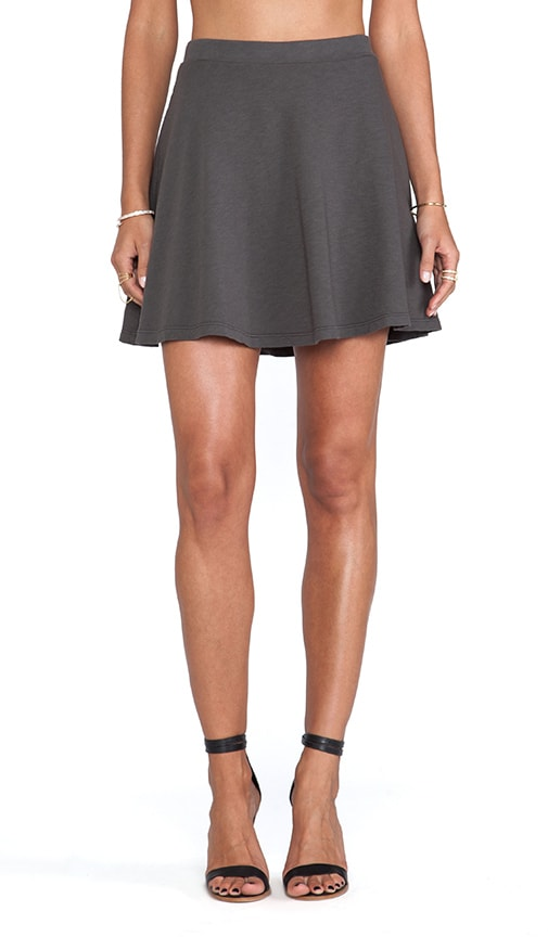 Hydie French Terry Slub Skirt