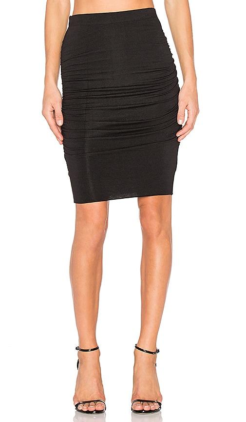 Velvet by Graham & Spencer Ardrin Midi Skirt in Black