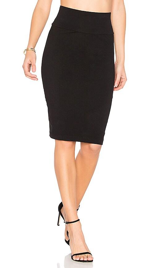Velvet by Graham & Spencer Trava Skirt in Black