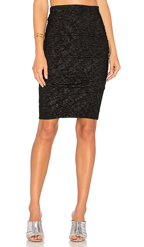 Velvet by Graham & Spencer Alva Skirt in Black