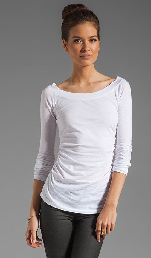 Gauzy Whisper Consuelo Top