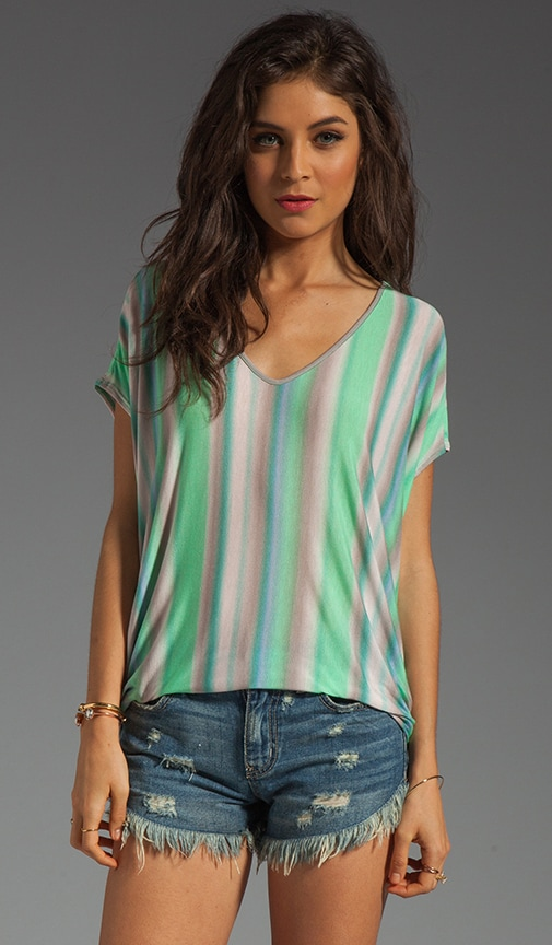 Nelda Sunset Stripe Top