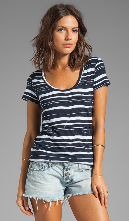 Elsy Painted Stripe Top