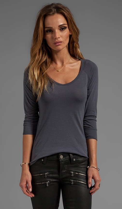 Venice Sheer Jersey Long Sleeve