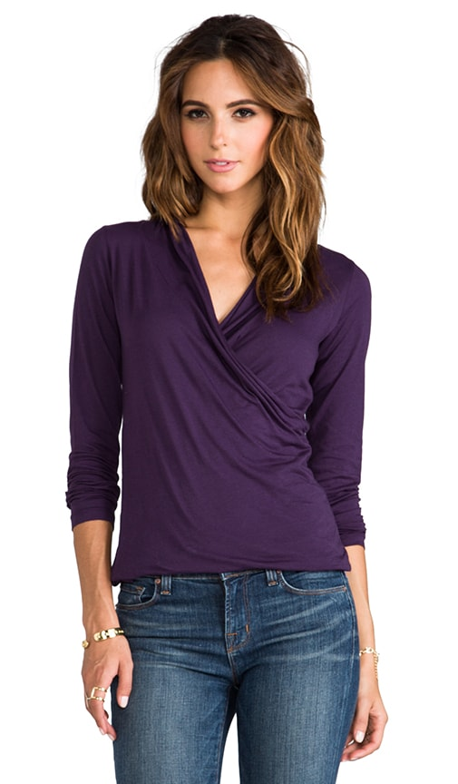 Gauzy Whisper Meri Wrap Top
