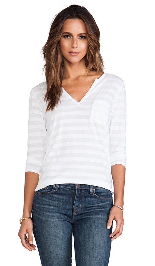 Trudy Tonal Stripe Top