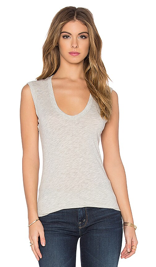 Estina Gauzy Whisper Classics Scoop Neck Tank