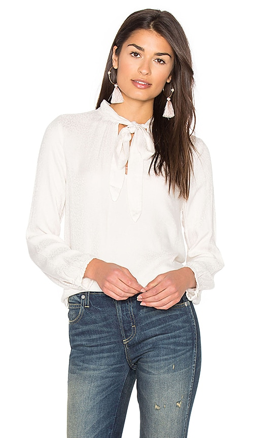 Velvet by Graham & Spencer Luisa Blouse in Ivory