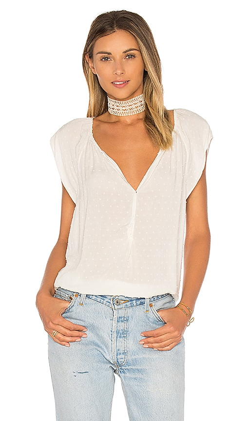 Velvet by Graham & Spencer Christabel Blouse in White