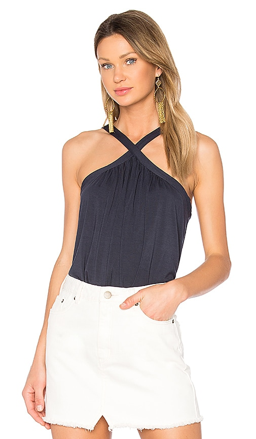 Velvet by Graham & Spencer Briella Tank in Navy