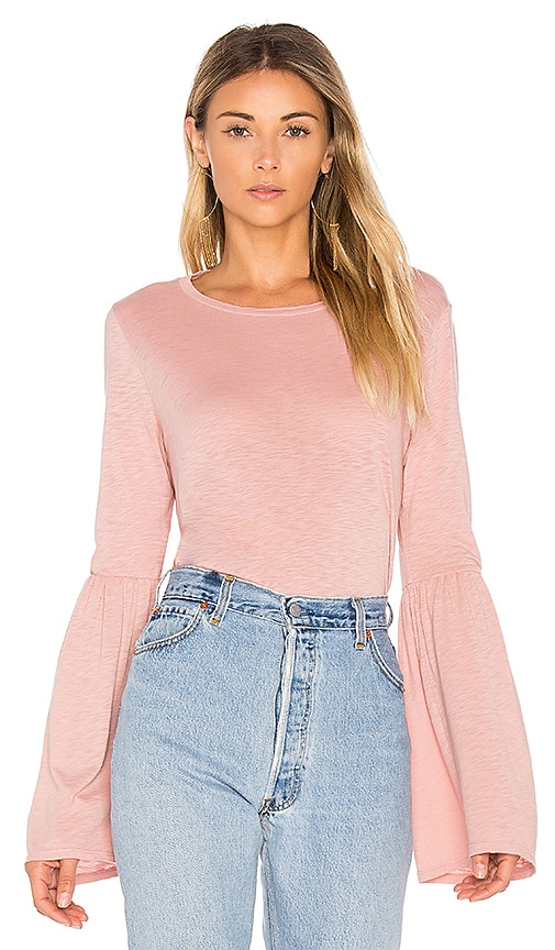 Velvet by Graham & Spencer Kamry Top in Pink