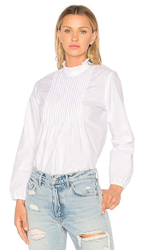 Velvet by Graham & Spencer Nabia Blouse in White