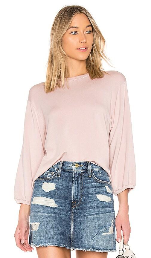 Velvet by Graham & Spencer Ember Fleece Top in Pink
