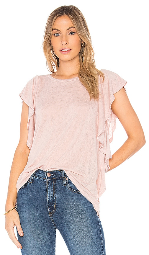 Velvet by Graham & Spencer Alianna Top in Pink