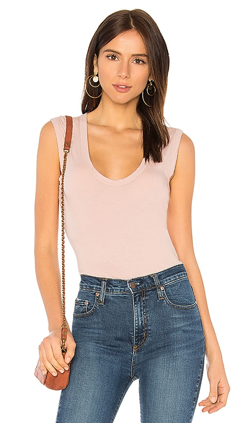 Velvet by Graham & Spencer Estina Tank in Blush