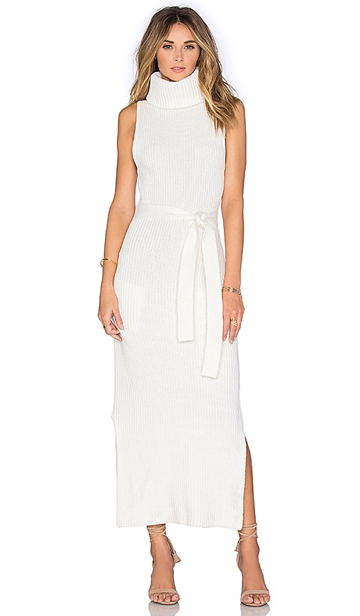 Viktoria + Woods Idyllic Knit Dress in Ivory