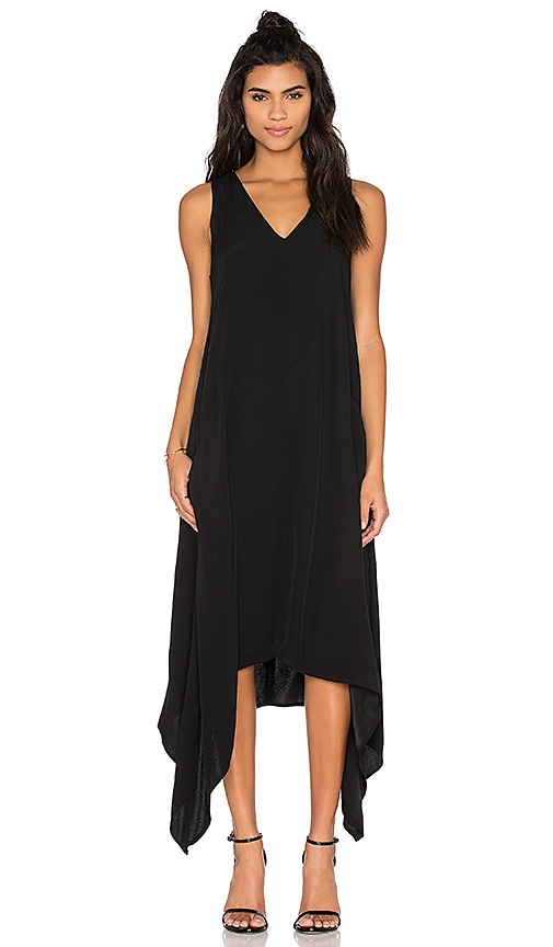 Viktoria + Woods Centaur Asymmetric Dress in Black