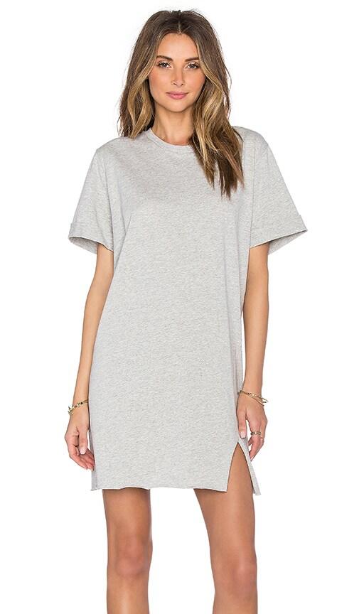 Viktoria + Woods Kokomo Tee Dress in Grey Marl