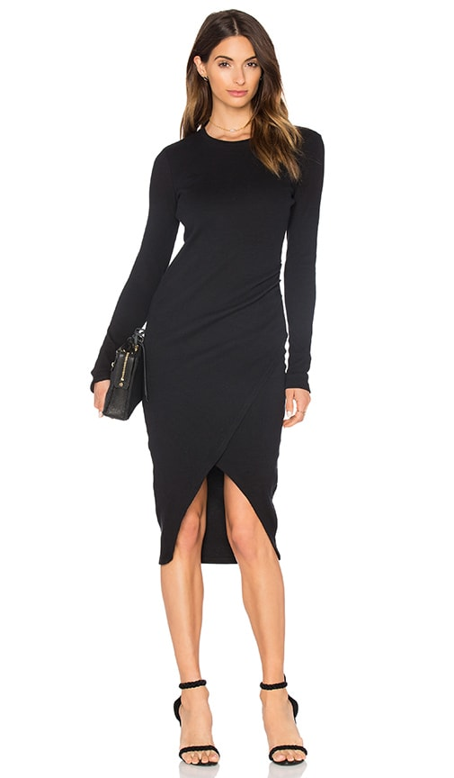 Viktoria + Woods Viennetta Dress in Black