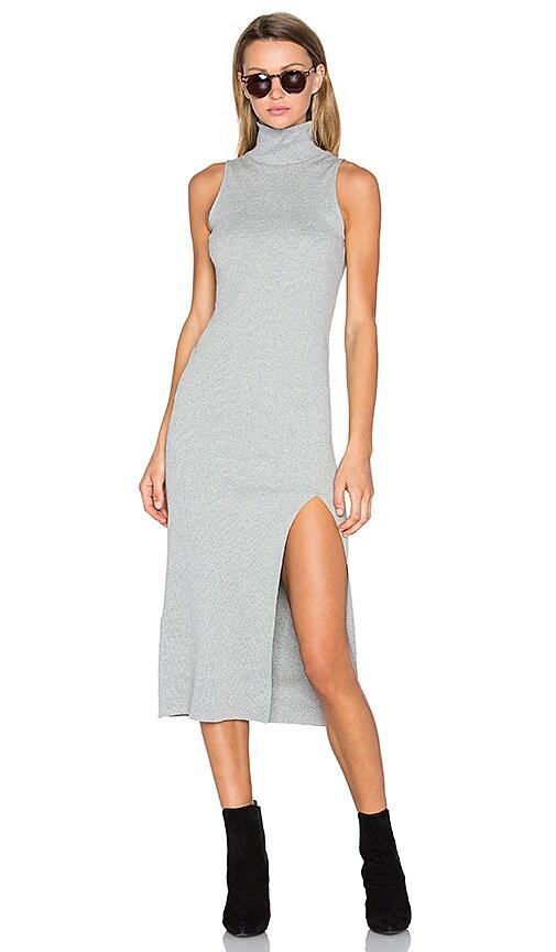 Viktoria + Woods Gunnar Split Maxi Dress in Grey