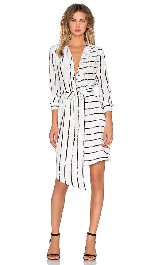 Viktoria + Woods Saigon Wrap Dress in White