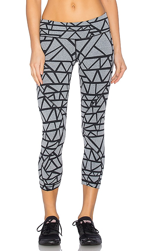Vimmia Lattice Wave Pant in Heather Grey & Black