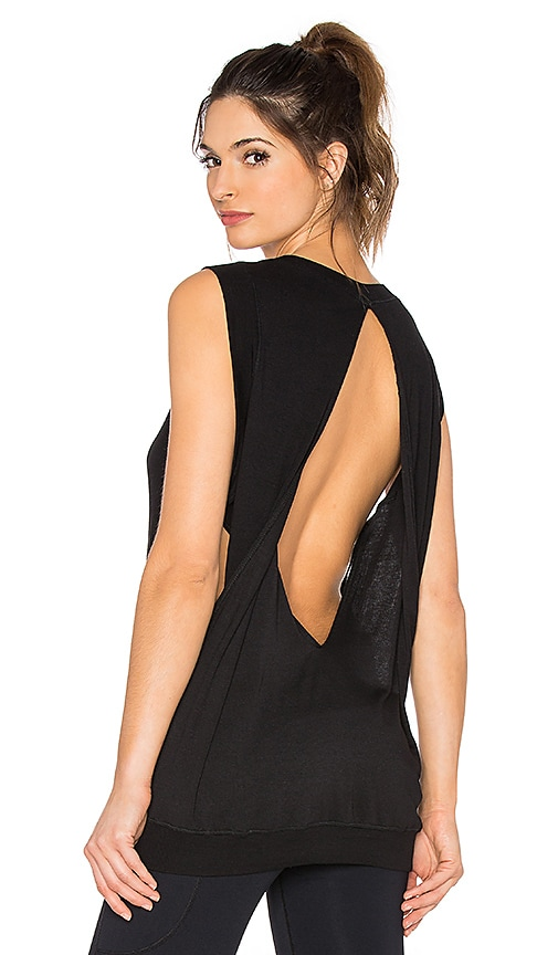 Vimmia Pep Open Back Tank in Black