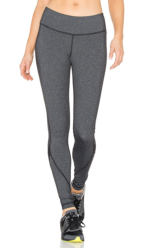 Vimmia Vee Long Legging in Heather Charcoal & Black
