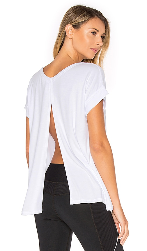 Vimmia Serenity Split Back Tee in White