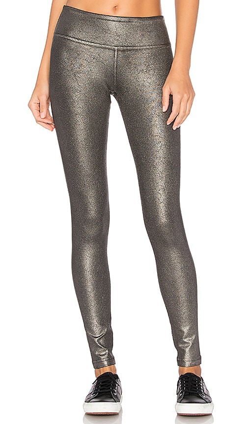 Vimmia Metallic Leggings in Charcoal