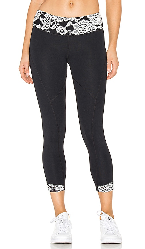 Vimmia Glacier Rhythm Capri in Black & White